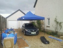 Ultimate car paint protection canopy